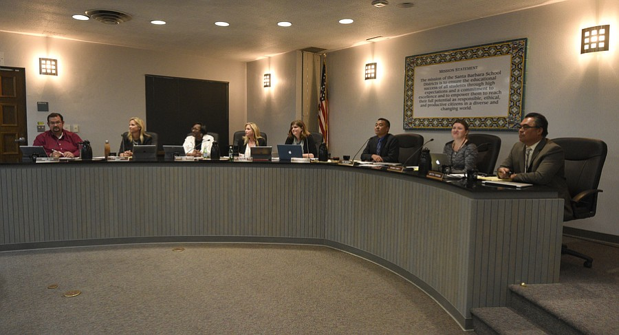 Santa Barbara Unified School District's Board of Education
