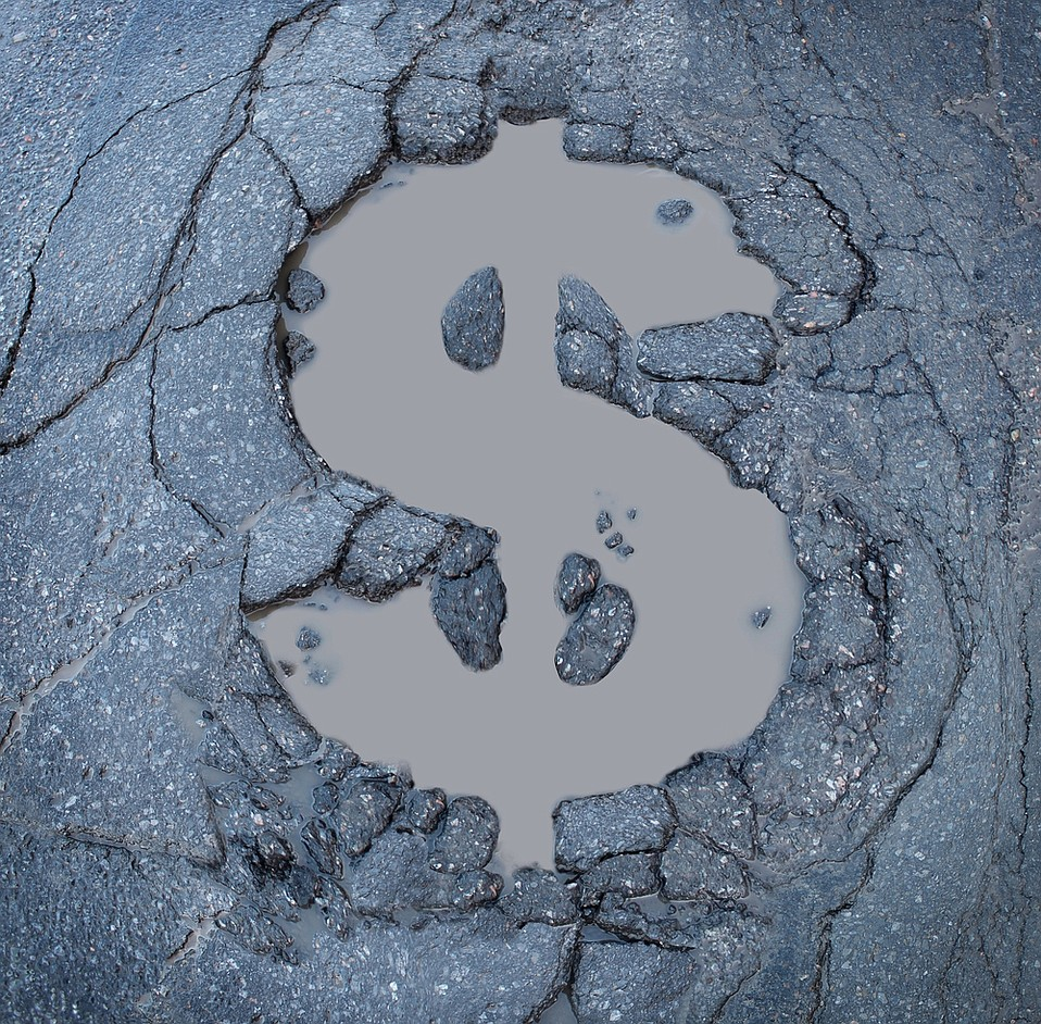 The American Automobile Association (AAA) said last year that pothole damage costs U.S. drivers about $3 billion annually.