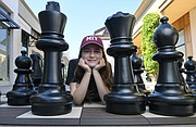 Agata Bykovtsev (pictured here at La Cumbre Plaza) is poised to represent Goleta at the U.S. Girls' Junior Championship.