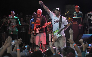 For nearly a decade, Slightly Stoopid (pictured at the Bowl in 2013) has come each summer to perform in S.B.'s beautiful amphitheater. This year is no different: The group, joined by Isla Vista–born band Iration, hits the stage July 23.