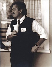 Ralph Lowe, teacher, Dunn School, 1990
