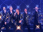The best-selling boy band in history, the Backstreet Boys strutted and shimmered and tore through their myriad hits with precision and enthusiasm.