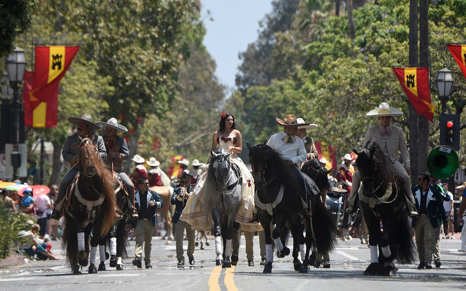 The 93rd Fiesta Historical Parade (or El Desfile Histórico) is one of the largest equestrian parades in the U.S., featuring more than 600 horses