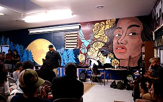Poetry is an important aspect of El Centro, and the open mic nights give it a connecting force for the Santa Barbara community.