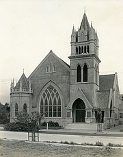 A third church, built at State and Sola streets, housed First Congregational for 21 years.