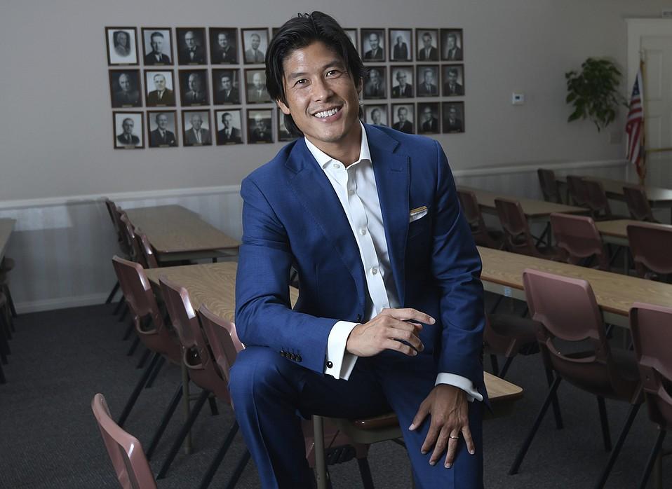 David Kim, board president of the Santa Barbara Association of Realtors