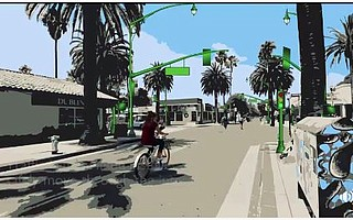 New stoplights on Pardall Road are intended to reduce collisions at Embarcadero del Norte before the Pardall Tunnel onto the UC Santa Barbara campus.