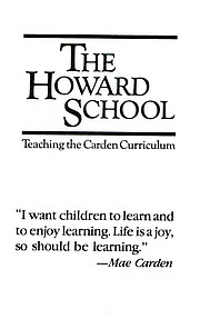 The Howard School prospectus circa 1984
