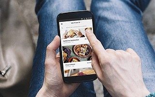 Popular ride service Uber now offers restaurant delivery.