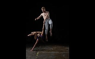 Hubbard Street dancers Ana Lopez and Florian Lochner. Concept by Alejandro Cerrudo.