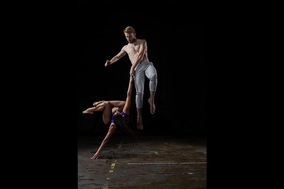 Hubbard Street dancers Ana Lopez and Florian Lochner. Concept by Alejandro Cerrudo.