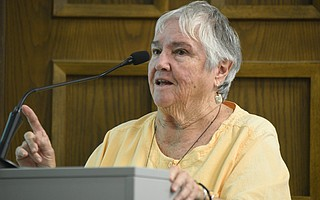 Gloria Liggett, who has been involved with Open Alternative School since the beginning, pointed out that the school has long utilized outdoor- and holistic-education techniques now considered cutting-edge.