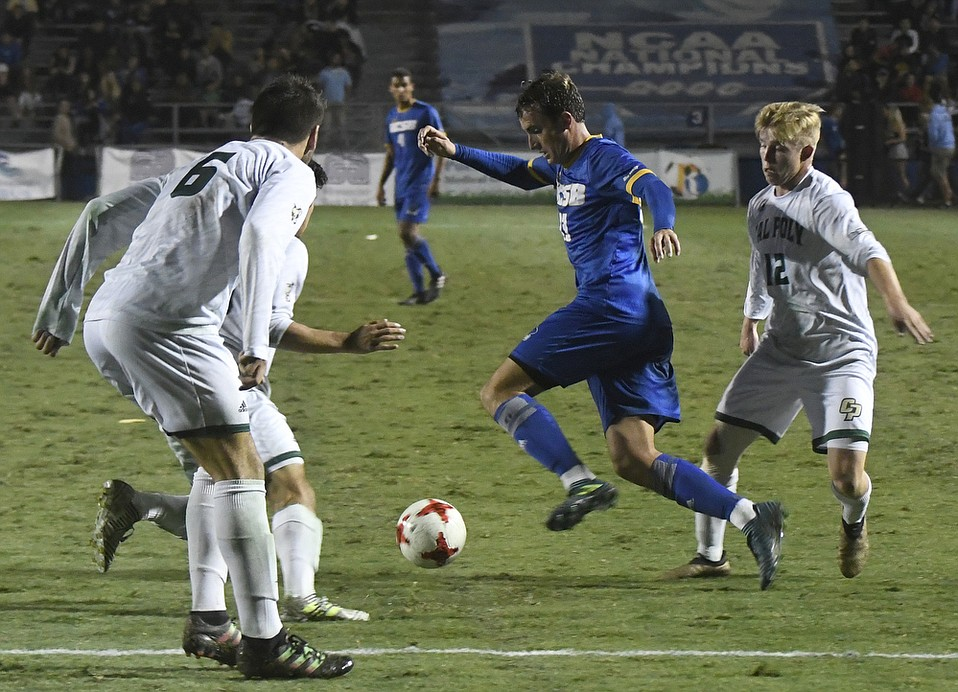 UCSB Men's soccer host Cal Poly with the outcome a draw