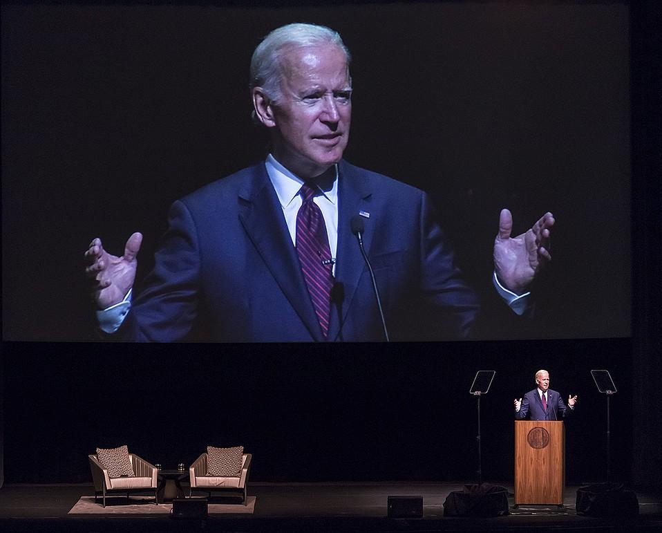 Former United States vice president Joe Biden