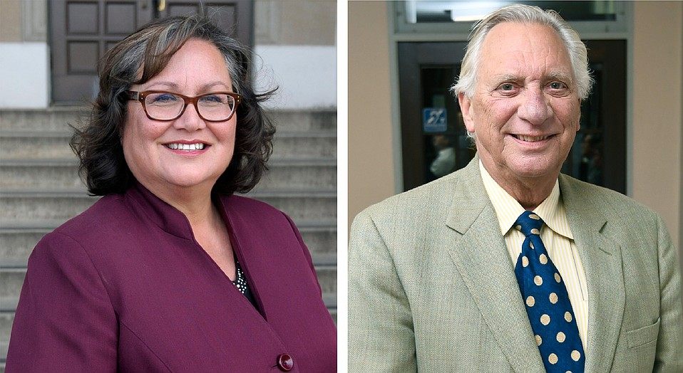 A survey by Jerry Roberts's <em>Calbuzz</em> finds mayoral candidates Frank Hotchkiss and Cathy Murillo in a dead heat.