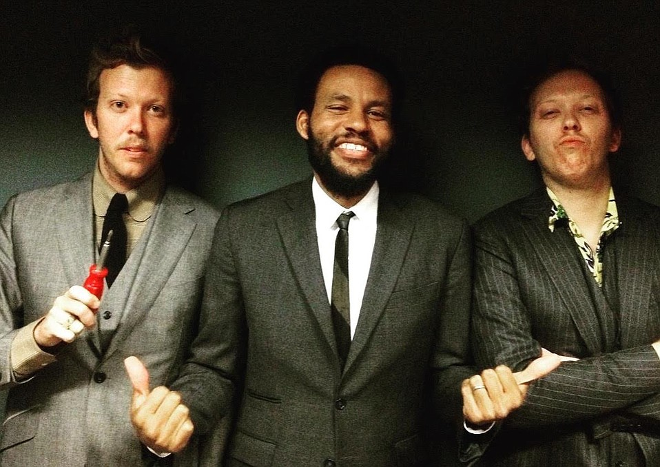 The Mattson 2 with Ray Barbee (center).
