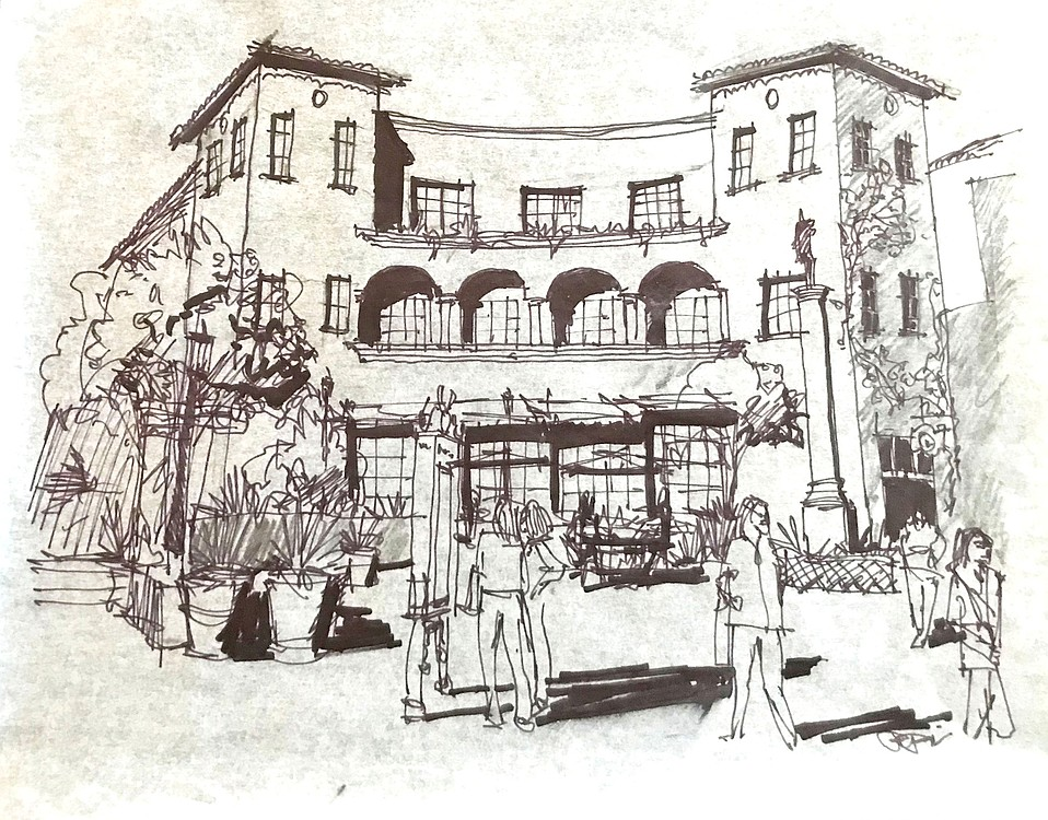 With everyone discussing the high number of State Street vacancies, Santa Barbara's architects did something about it: They drew a future with housing included.
