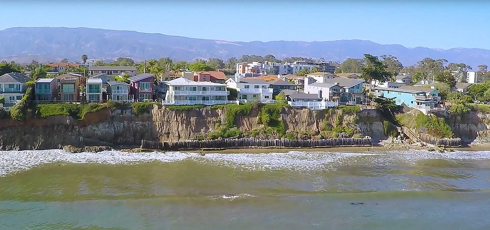 A package of 37 Isla Vista properties, many on ocean-bluff fronting Del Playa Drive, recently went on the market for $79 million.
