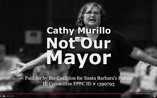 "The ""Not my Mayor"" hit piece against Cathy Murillo — which uses an <em>Independent</em> photo without permission, taken by intern Mike Clark in 2014 — is the first of the campaign, with less than a week to go until voting concludes."