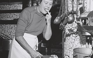 Julia Child on page 96 of <em>France Is a Feast</em>