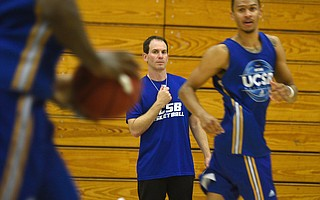 After six years on the Arizona basketball staff, Joe Pasternack is the energetic new head coach at UCSB.