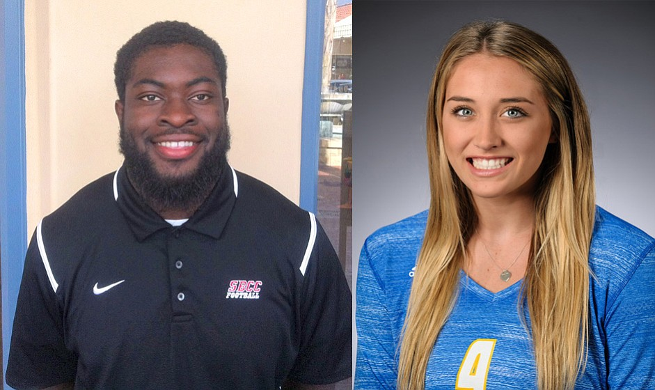 Manny Nwosu (left) and Lindsey Ruddins (right)