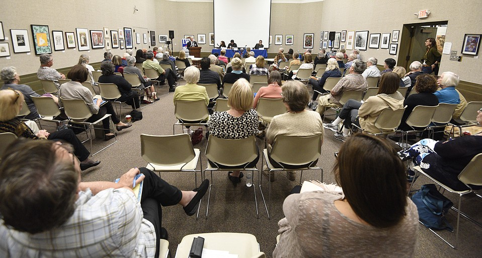 The Santa Barbara Public Library and the League of Women Voters of Santa Barbara hosted a discussion titled 'Immigration: Update On What is Happening in Santa Barbara County.'