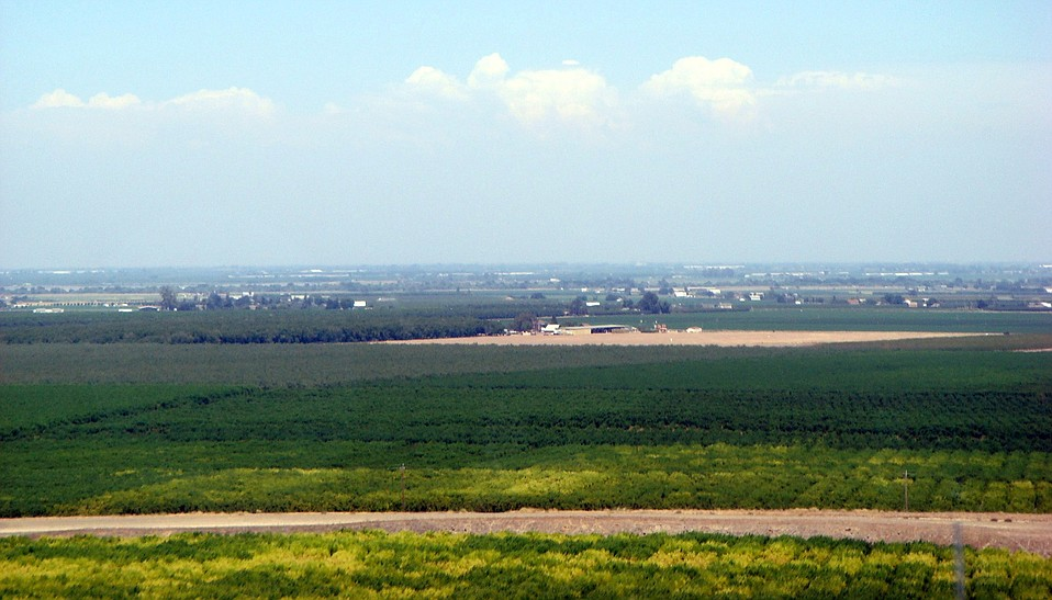 "California's San Joaquin Valley, where the name ""valley fever"" originates."