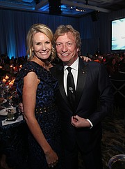 Kisa Heyer (Dream Foundation CEO), Nigel Lythgoe (Dream Foundation Supporter)
