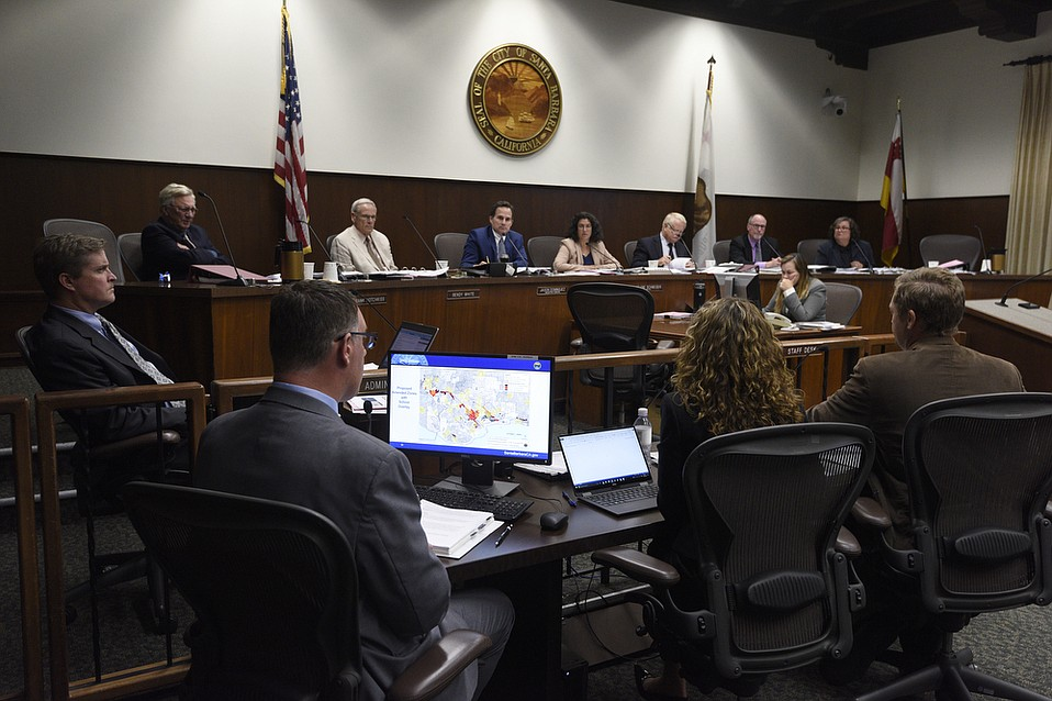 Santa Barbara City Council adopts a new marijuana ordinance allowing five recreational cannabis retail shops, an unlimited number of wholesale operations, and six personally grown plants for residents over the age of 21, one of which may be grown outside.