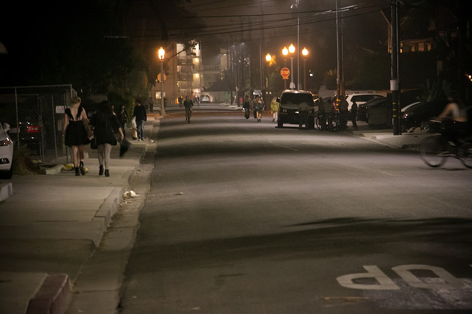 Halloween weekend in Isla Vista in 2017 featured empty streets instead of the past's teeming crowds, arrests, and occasional violence.