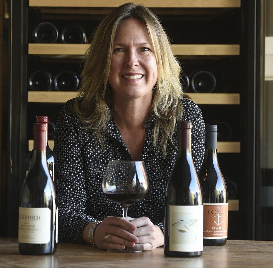 Alison Laslett, new CEO of Santa Barbara Vintners