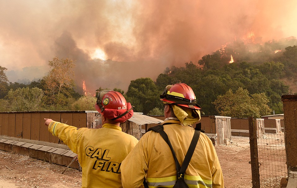 Incident commanders have plans for the Thomas Fire — four, to be exact.