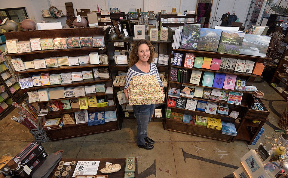 Folio Press & Paperie is a hidden treasure at 301 Motor Way (next door to RoCo), one of many owner Marlene Bucy hopes Santa Barbarans will rediscover this December.