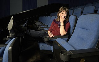 Kathleen Sharp at Metropolitan Camino Real Cinemas, Goleta, CA