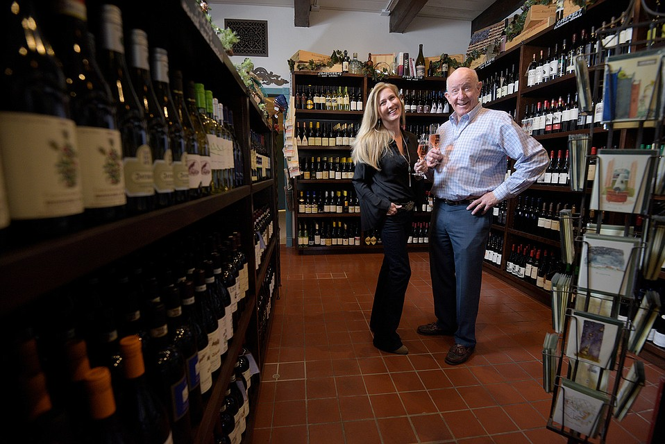 Laplace Wine Bar & Shop's Betty Dunbar and Dennis Peterson