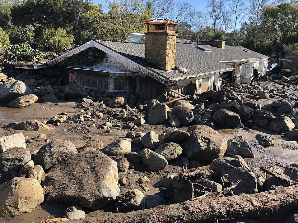 Searchers continue to comb Montecito areas hoping to find survivors.