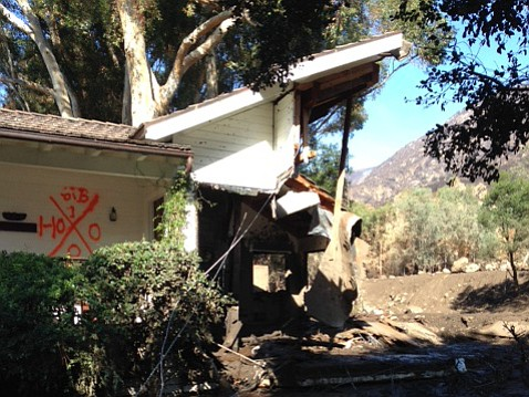 Many of San Ysidro Ranch's cottages are complete losses