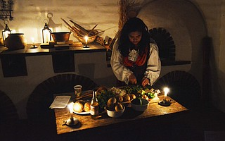 Take a trip to the past with Presidio Pastimes by Candlelight