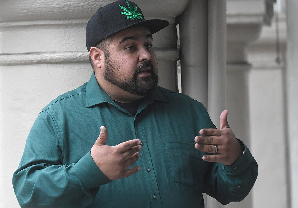Joe Garcia, president of the Lompoc Valley Cannabis Coalition