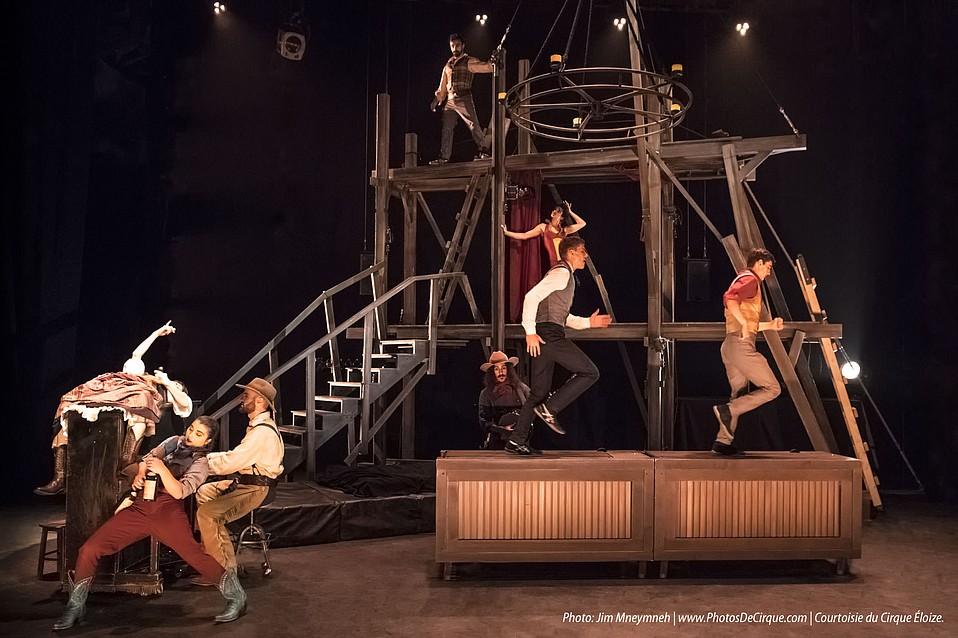 Cirque Éloize's <em>Saloon</em>
