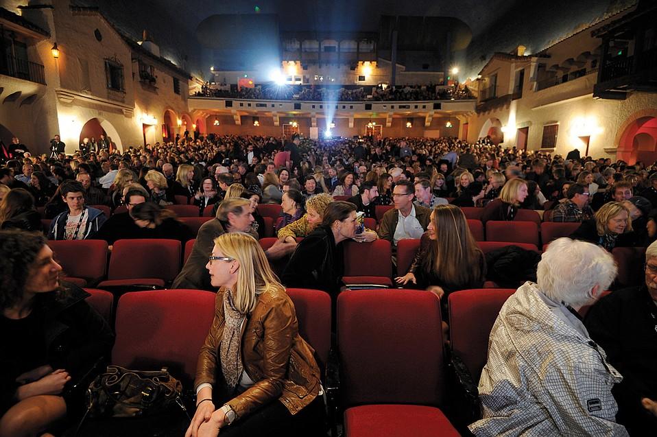 2016 Santa Barbara International Film Festival Opening Night at the Arlington Theatre