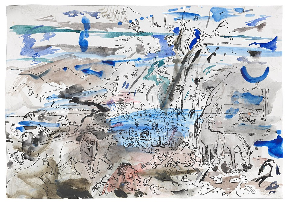 'Untitled' (Paradise), by Cecily Brown