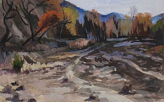 'Scorched Riverbed', by Libby Smith