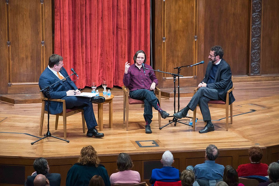 Sarah Vowell and Tony Kushner sit down to discuss the legacy of Abraham Lincoln in today's political climate.