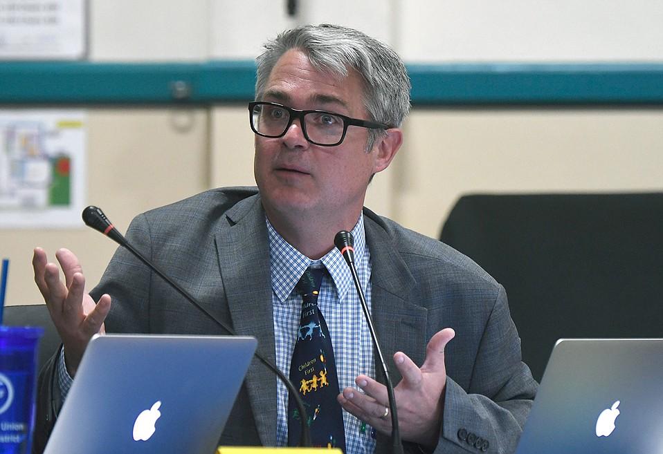 Montecito Union Superintendent Anthony Ranii