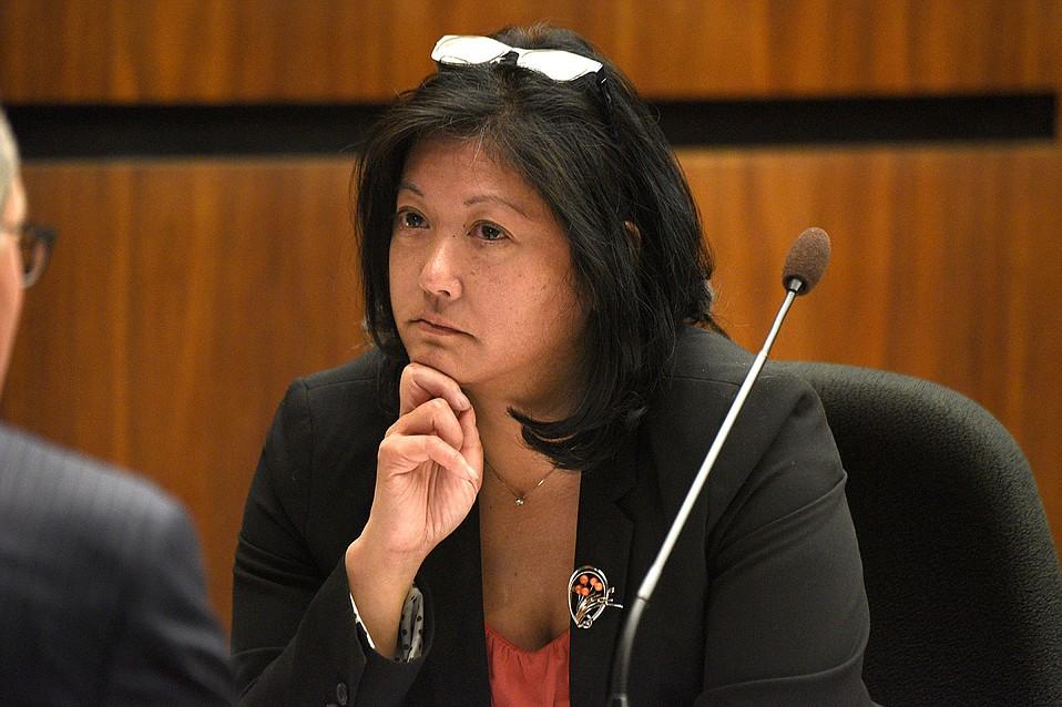 County Executive Officer Mona Miyasato