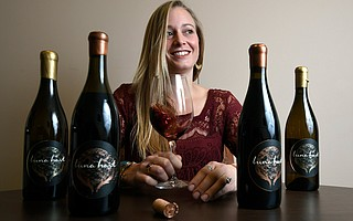 Gretchen Voelcker is one of the women winemakers taking part in a March 8 event to celebrate International Women's Day.