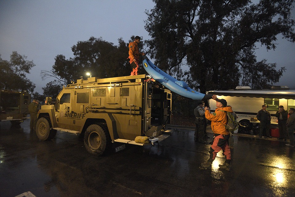 Santa Barbara emergency responders were prepared for the worst, with swift water rescuers and searchers positioned throughout the storm, but Montecito got the best outcome: a gentle rain.