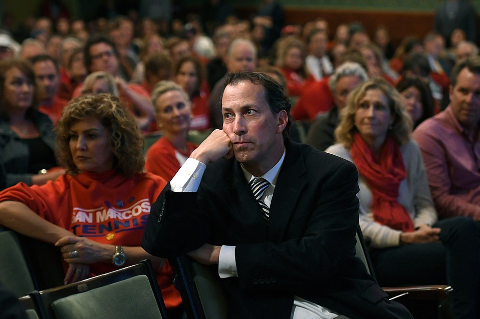 Contingent of San Marcos Parents Call for Recall of Boardmembers